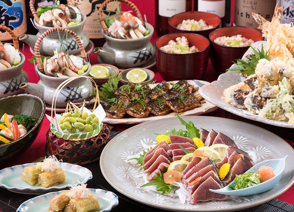 和食処 梅林「秋の味覚祭プラン」