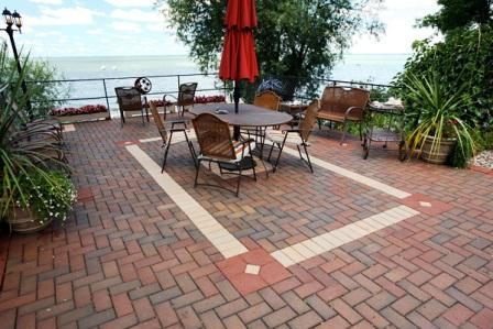 one enticing characteristic of brick is that it is long lasting the color stays consistent and you wont have to worry about a faded look - Brick Patio Designs