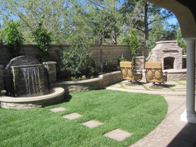 Landscape Ideas For Small Backyards: Garden Stone Path Ideas And Gallery