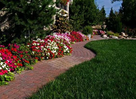 Garden stone path ideas and gallery Types of pathways in landscaping