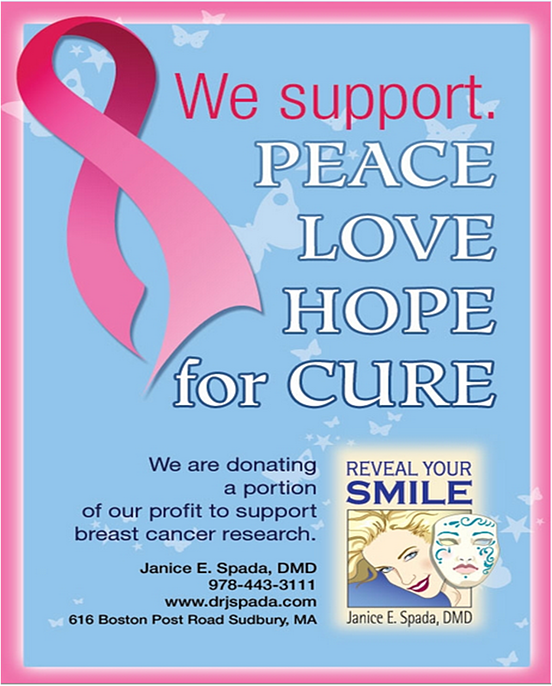 sudbury ma dentist supporting breast cancer research