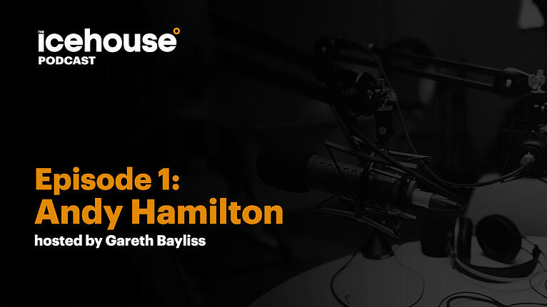 Episode 1: Andy Hamilton - Hosted by Gareth Bayliss