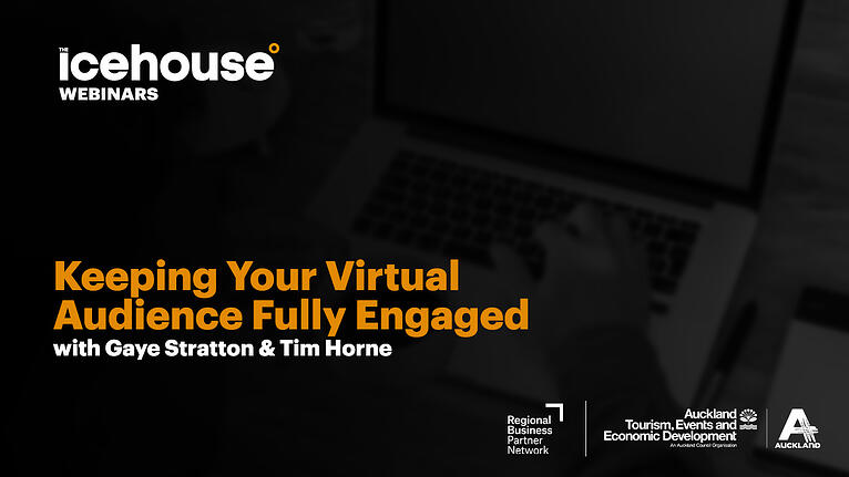 Keeping Your Virtual Audiences Fully Engaged