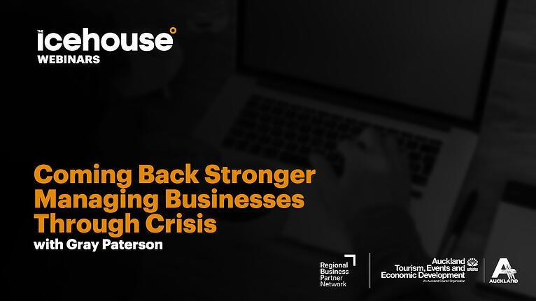 Coming Back Stronger - Managing Businesses Through Crisis
