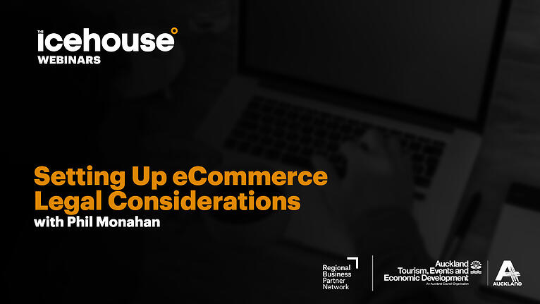 Setting Up For eCommerce Trading - Legal Considerations