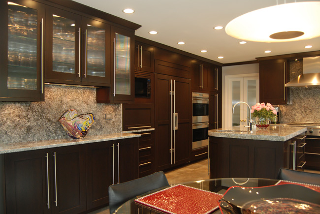 Flat Panel Doors. As Mentioned Above, Most Of Our Clients When Selecting A  Contemporary Kitchen Design Opt For ...