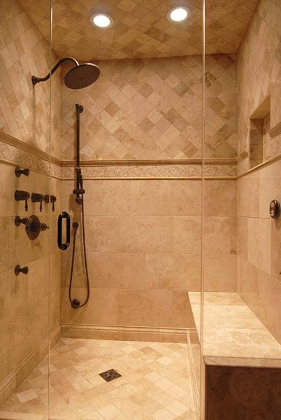 Chicago Bathroom Design   Luxury Steam Shower