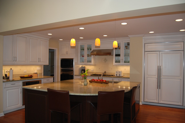 Chicago kitchen remodel what does integrated appliance mean for Traditional kitchen meaning