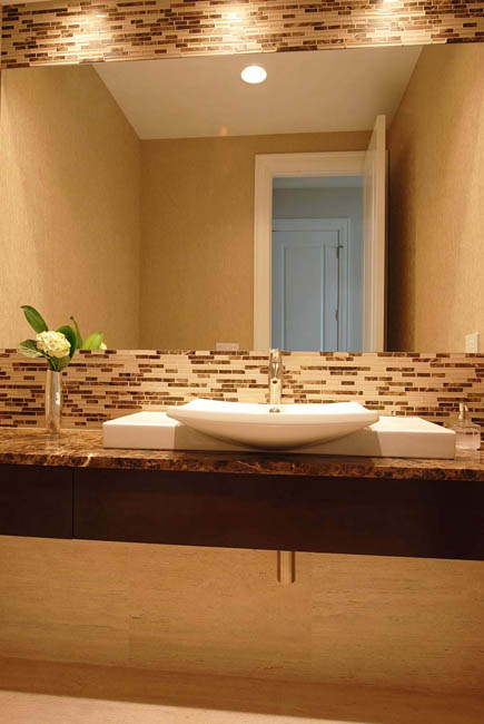 Bathroom Remodeling Chicago Adding Texture To Your Powder