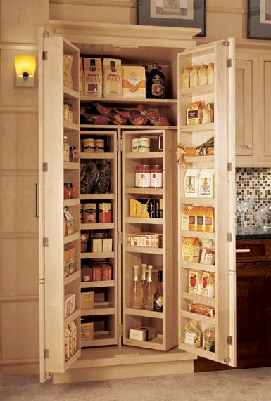 Kitchen cabinets options for a kitchen pantry you deserve - Bathroom pantry cabinets ...