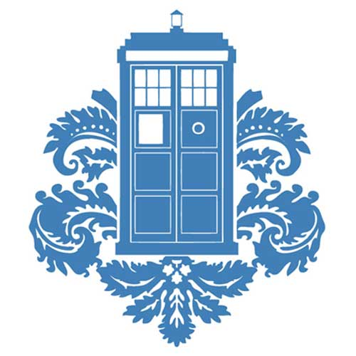 Tardis Vector Outline Example of vector artTardis Vector Outline