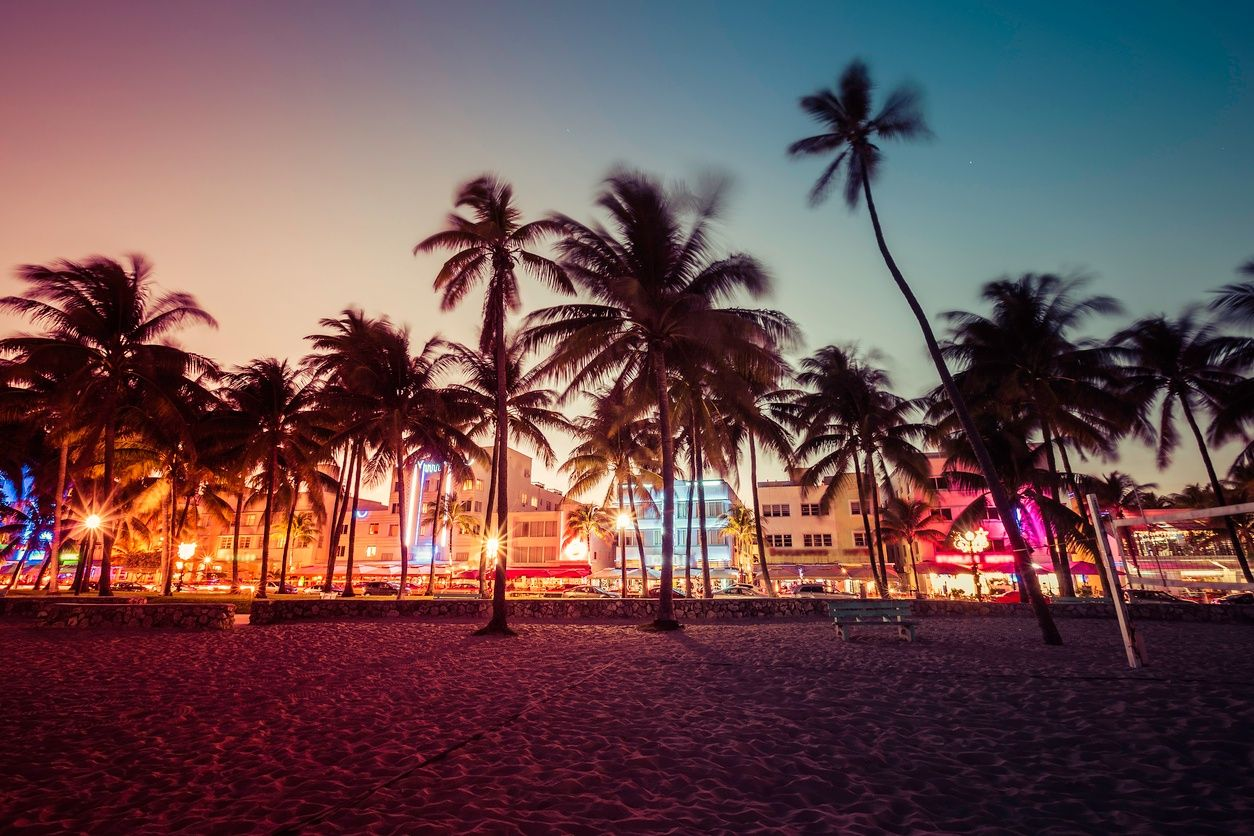 an image of the nightlife in South Beach, Miami