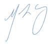 Signature blue cropped
