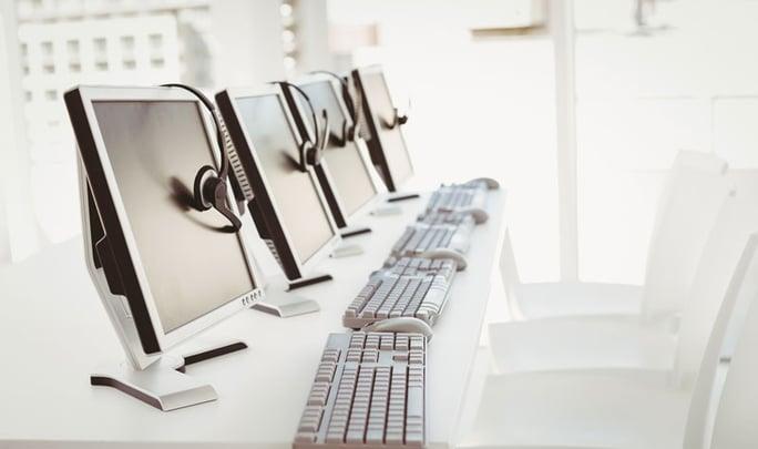 Call Center Software  Arbeitsplätze