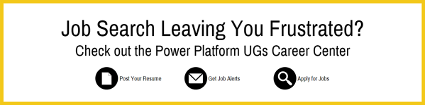 New PPUG career banner