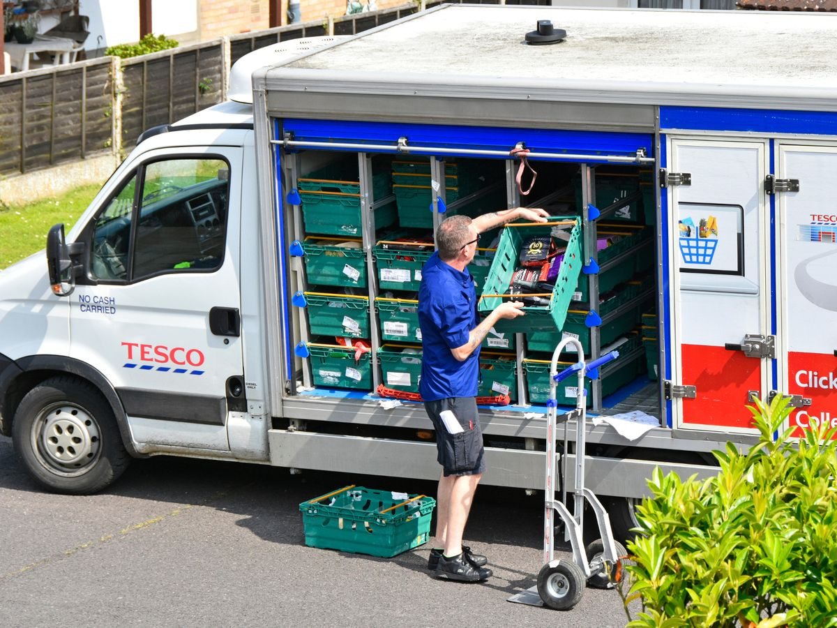 tesco delivery slots increase to meet demands