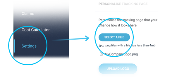 Personalise-Track-Shipment-Button