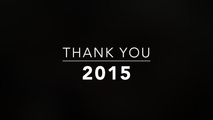 2015 - An Awesome Year of Growth