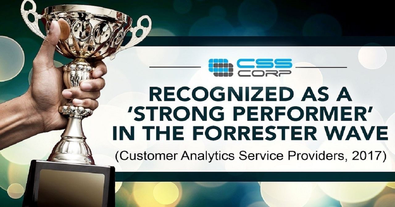CSS Corp recognized as a strong performer in The Forrester Wave™ Customer Analytics Service Providers