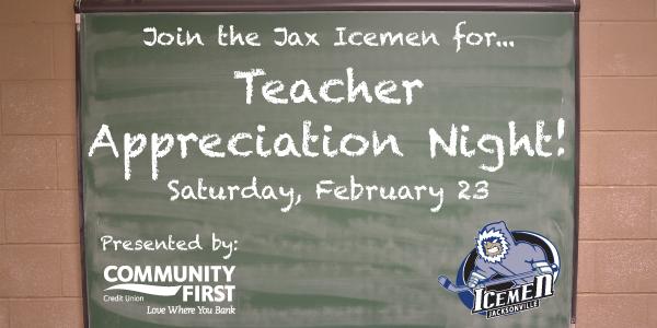 Teacher Appreciation Night