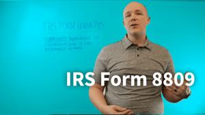 IRS-Form-8809