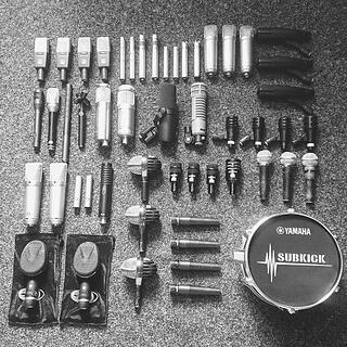 A selection of the microphones on offer at dBs Music cover most recording situations.