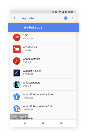 Review all the apps you have to see if you have any fake apps lurking on your phone.