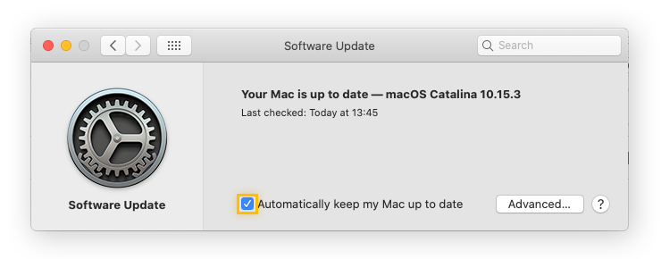 It's best to have your computer apply updates automatically.
