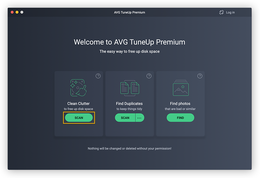 AVG TuneUp will help you find all unnecessary junk and delete it.