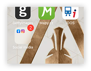 Based on your home screen, your app is now hidden!