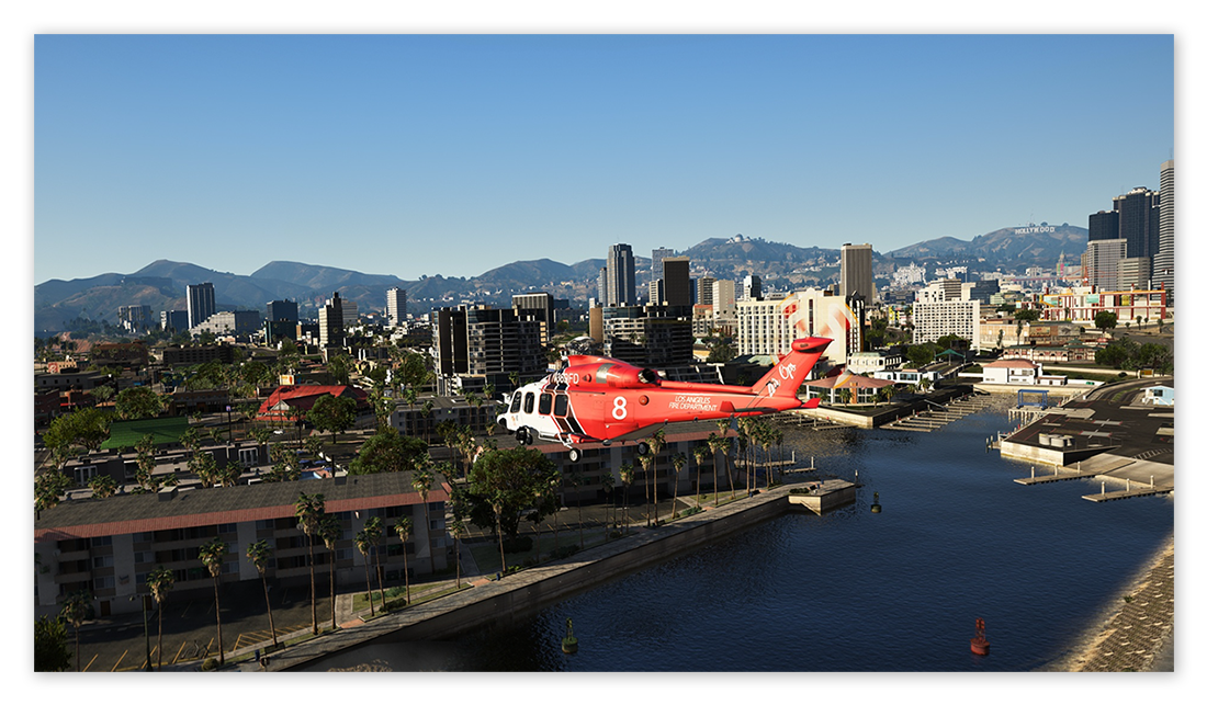 Grand Theft Auto V with the NaturalVision Remastered mod for Windows 10