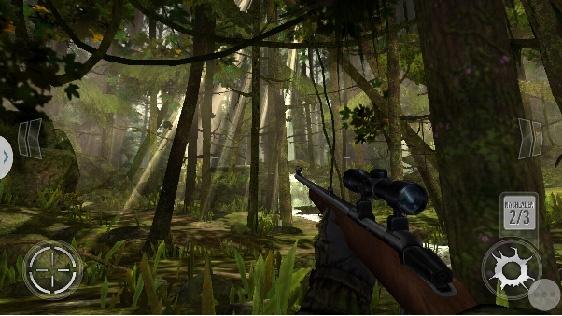 Deer hunter game screenshot