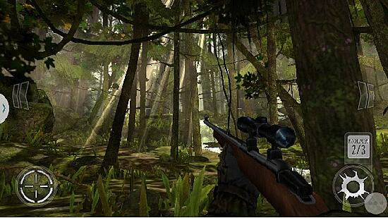 Deer hunter game screenshot