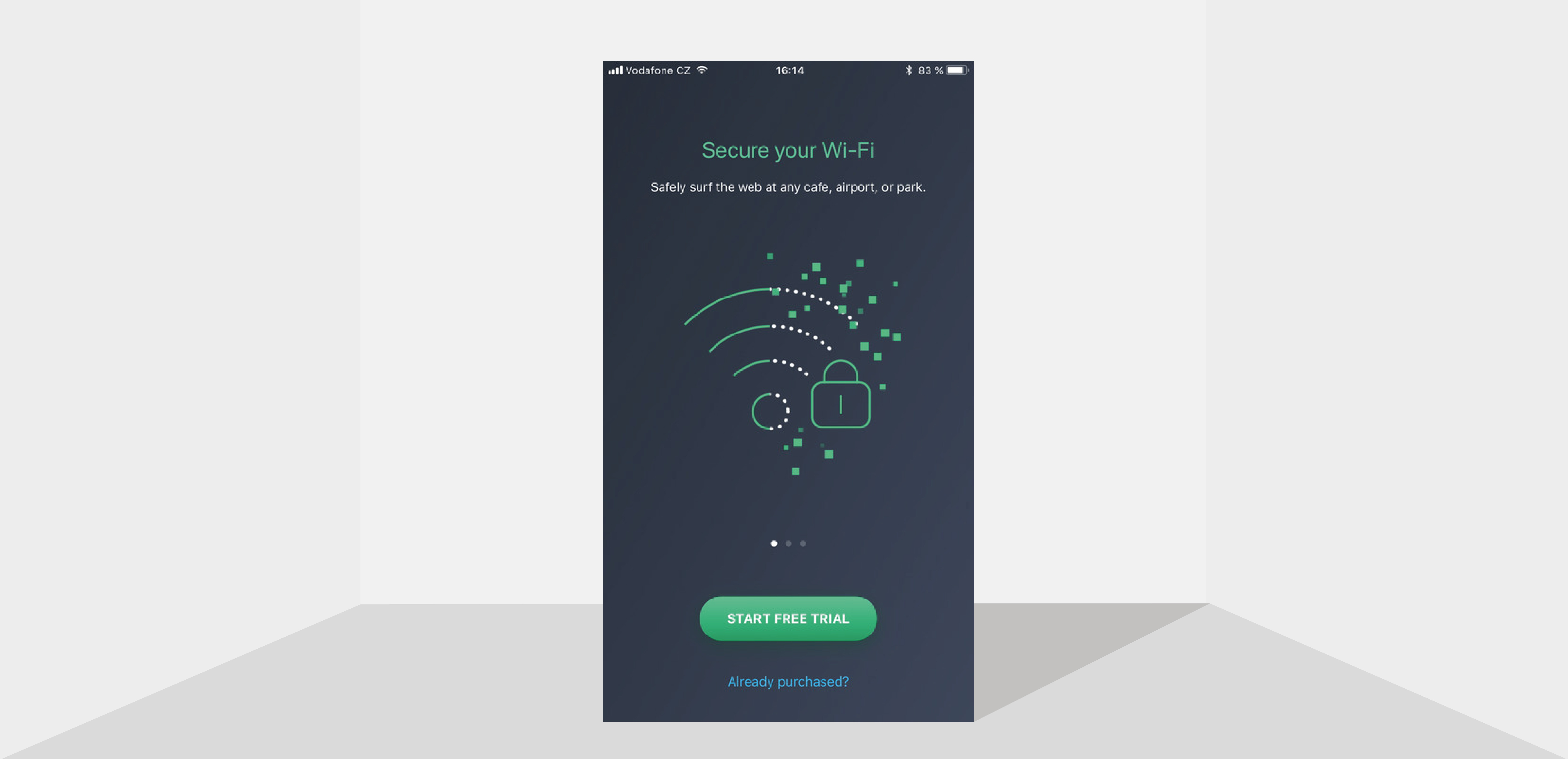 Secure your privacy — even on public Wi-Fi — with a trusted VPN.