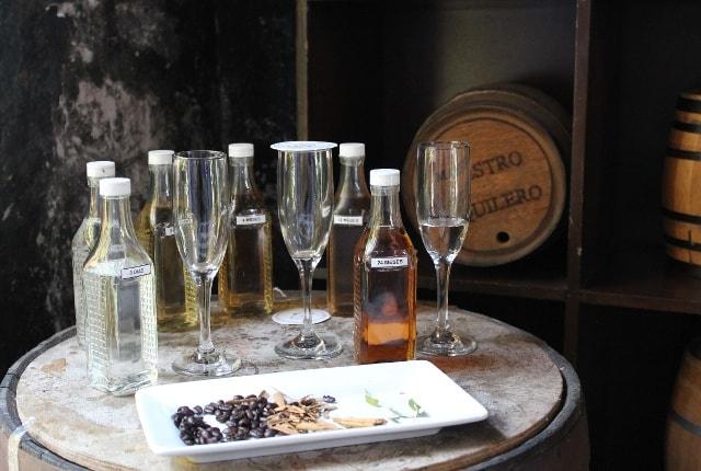 Imagem de garrafas de tequila