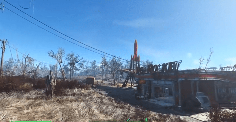 "Screenshot vom Spiel ""Fallout 4""."