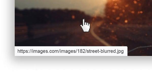 Come individuare la pagina di destinazione di un collegamento