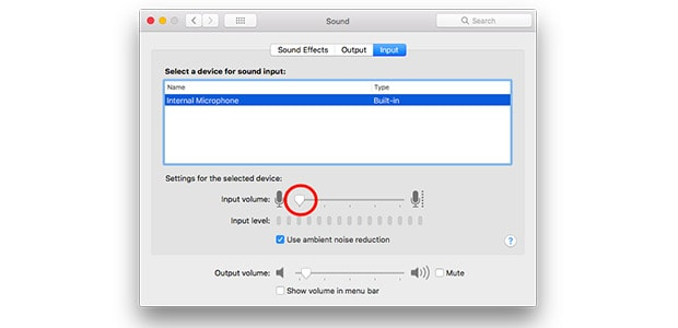How to adjust your microphone levels on a Mac