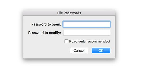 Password-Protecting your Microsoft Excel is also easy