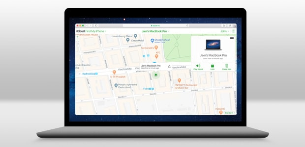 Use Find My Mac to locate your lost Mac