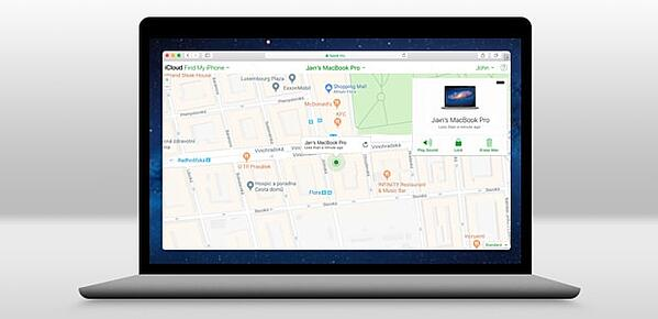 Use o Find My Mac para localizar seu Mac perdido
