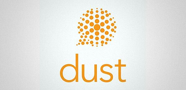 Logo der Messaging-App Dust