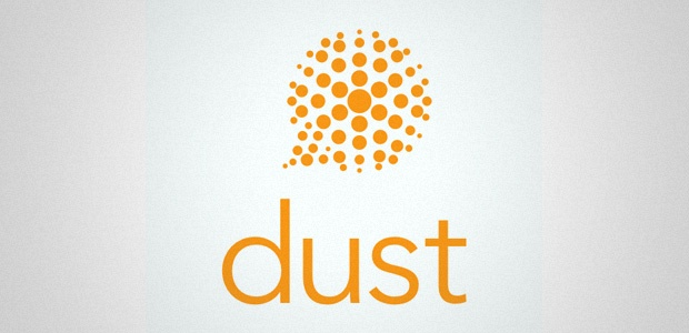 Dust messaging app logo
