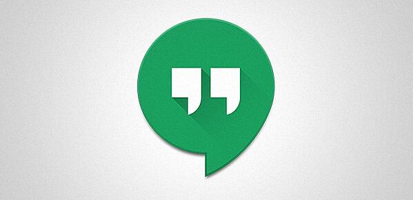 Logotipo do aplicativo de mensagens do Hangouts do Google