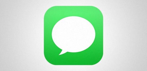 Logotipo do aplicativo iMessage