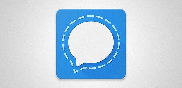 Logo der Messaging-App Signal