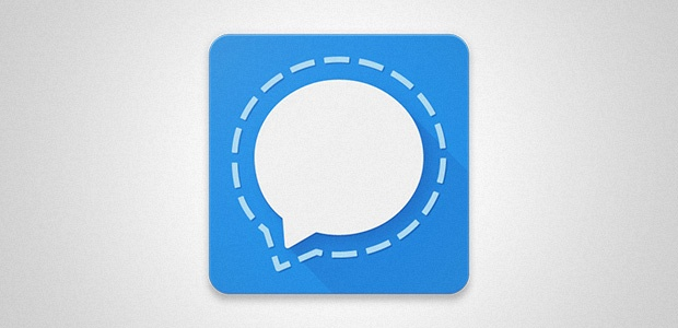 Signal messaging app logo