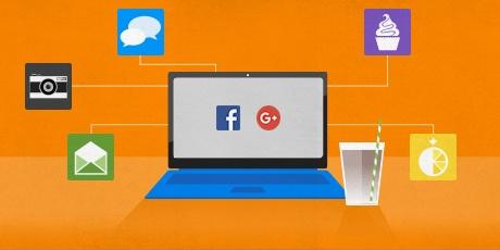 Ist es sicher, sich mit Facebook oder Google anzumelden?