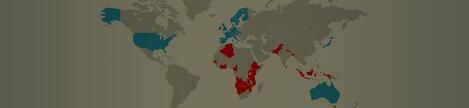 Os países mais seguros e mais perigosos para PCs