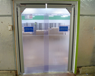 2400 series flexible PVC doors